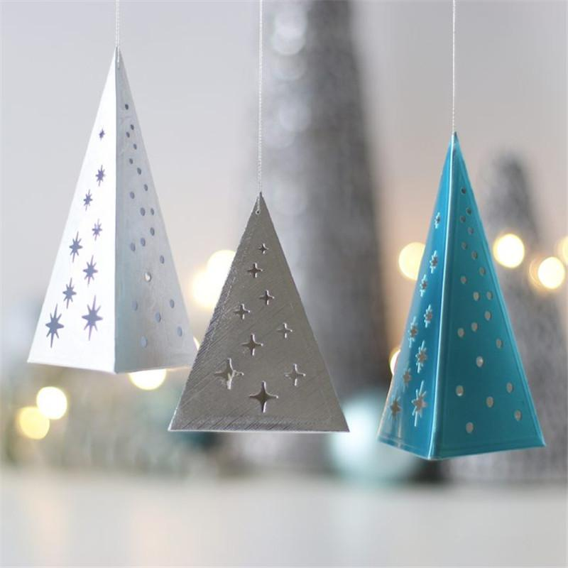 2019 triangle fold christmas tree scrapbooking metal die cutting embossing paper card album