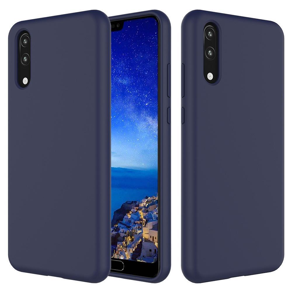 b767d888116 Carcasa Personalizada Funda Protectora Del Teléfono Líquido De Silicona  Suave Simple Para Huawei Mate 20 X P20 Pro Lite Y9 2019 Y6 2018 Honor Play  Cubierta ...