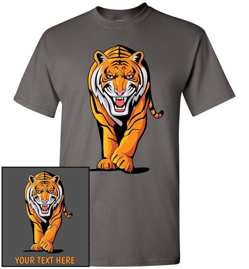 07af86be Stalking Tiger T-Shirt, Men Women Kids Tank Long Personalized Custom Tee  bengal Classic Quality High t-shirt