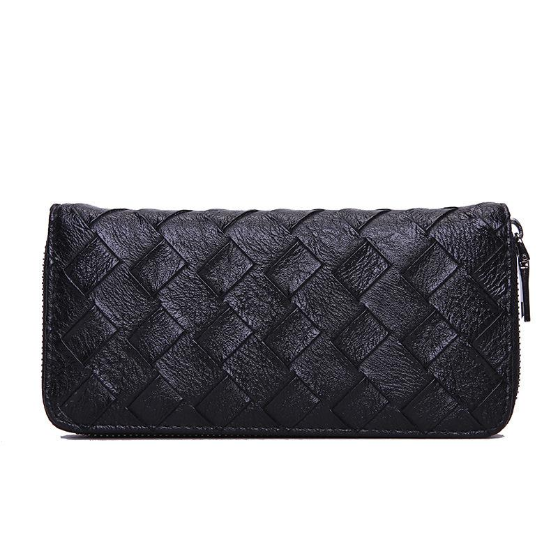 Pretty2019 Pu Trend Skin Long Fund Square Zipper Wallet Ma'am Will Capacity Hand Take Package