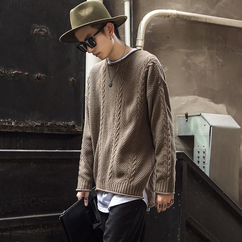 2019 Nice 5xl Fashion Mens Christmas Sweater Casual Slim Fit Male