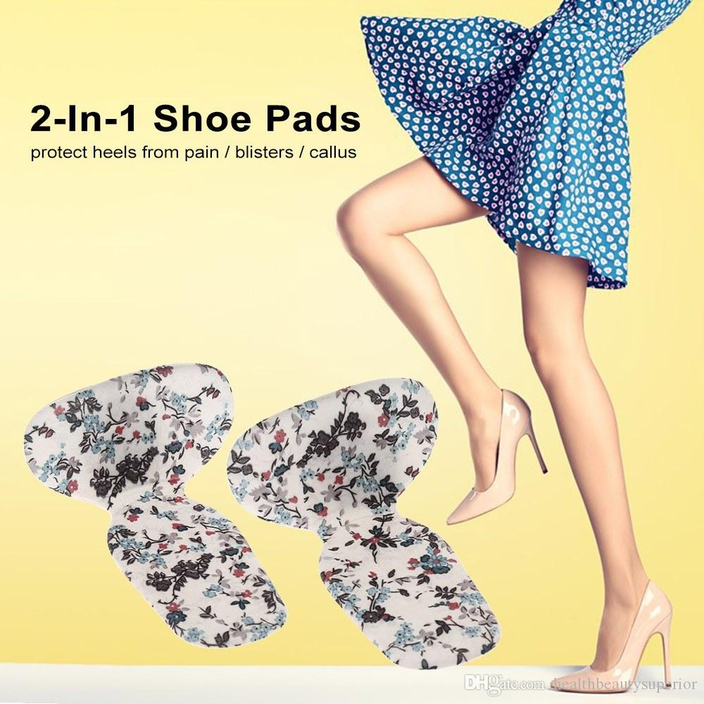 Silicone Gel Heel Insole Protectors Cushion Inserts Shoes Pads for High Heel Insoles Foot Protection Tool
