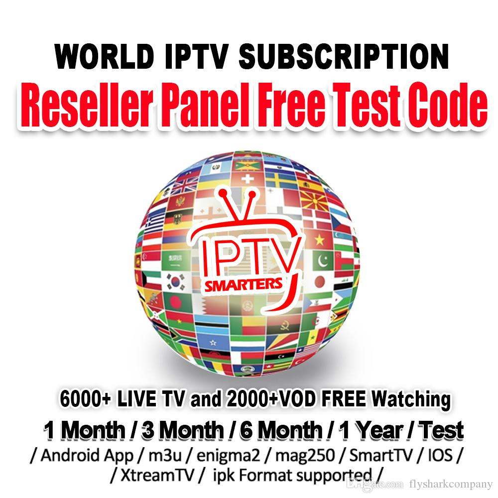 IPTV Subscription with 6000 Channels abonnement IPTV Europe French USA CA  UK Germany Italy iptv For M3U Mag Android tv box Smart TV