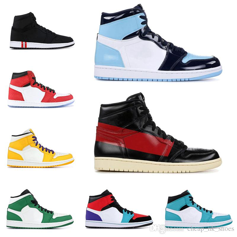 new style 1c781 089b5 1 1s Mid Basketball Shoes SPIDERMAN TOP 3 UNC COUTURE PINE GREEN NEW LOVE  HOMAGE TO HOME Banned Mens Sports Sneakers Basketball Shoes For Sale  Basketball ...