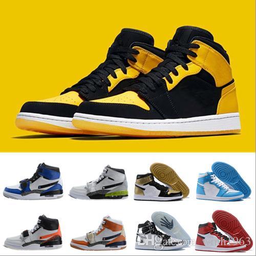 High 2019 Run Basketball Red New 1 Metallic Top Classic Shoes 8n0vOymwN
