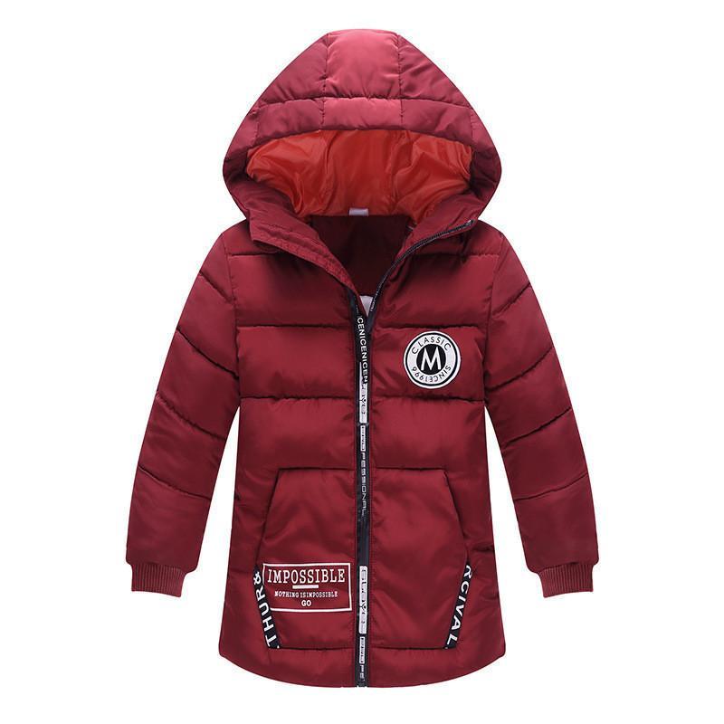 b1486bde8337 качество дети верхняя одежда с капюшоном куртка дети зима утка вниз снег  носить ...