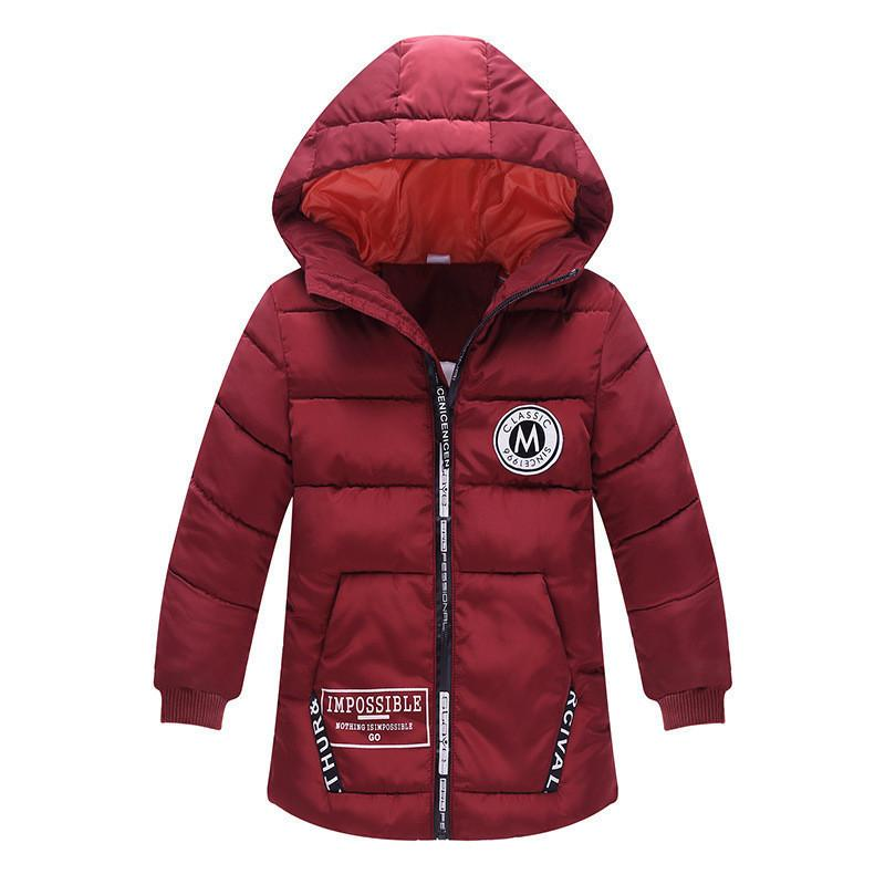 f9c6249e6747 Quality Children Outerwear Hooded Jacket Kids Winter Duck Down Snow ...
