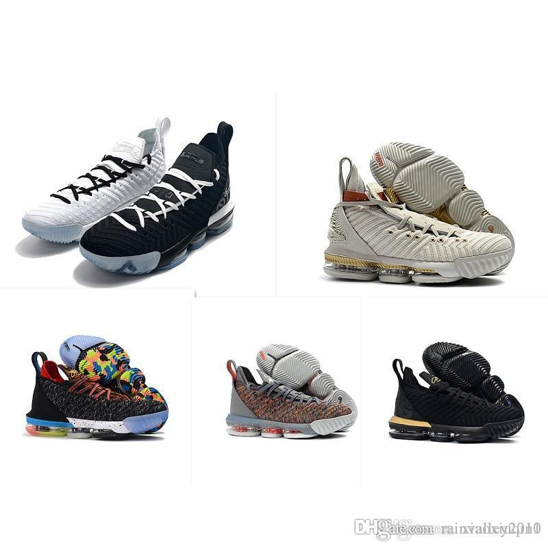 749bb915eb3f96 2019 What The Lebron 16 XVI Mens Basketball Shoes For Sale Flowers ...