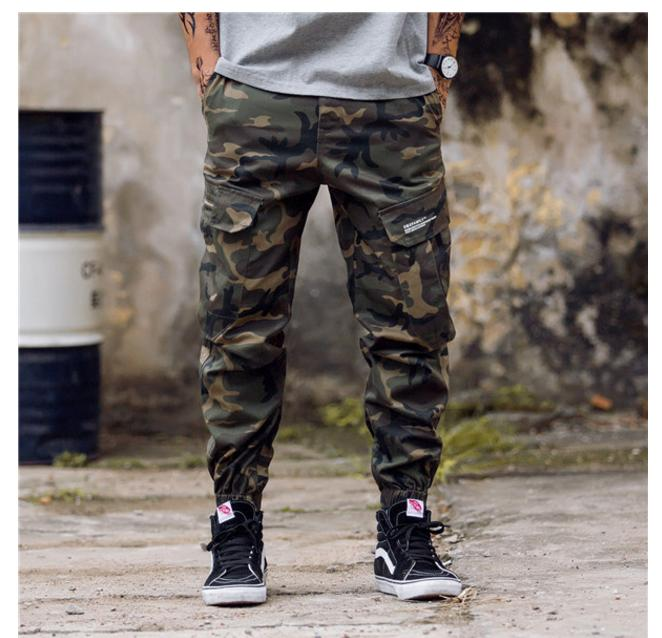 ce2914c77b24e 2019 New Arrival Mens Pants Fashion Camouflage Jogging Pants Womens Zipper  Overalls Beam Foot Trousers Irregular Joggers Pants From Lingling5788, ...