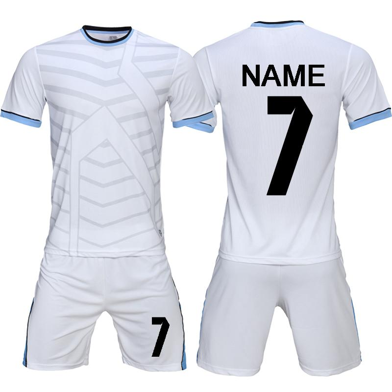 a5954d67b 2019 2019 New DIY Soccer Jerseys Set Uniforms Men Adult Football Shirt  Shorts Clothes 2018 2019 Cheap Football Team Uniforms Tracksuit S 2XL From  Jerseys222 ...