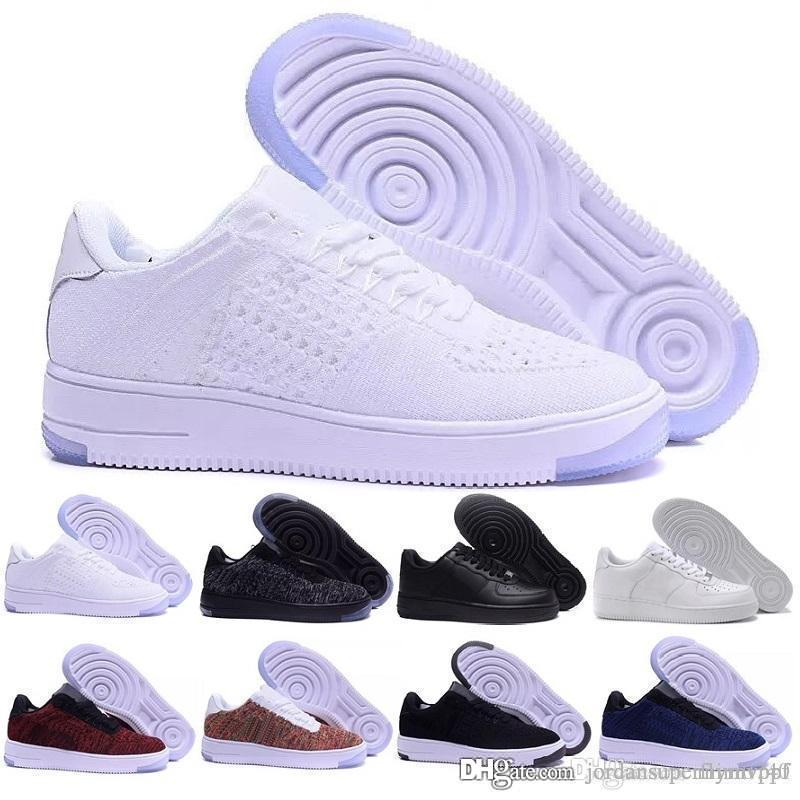 b02b2ab21c4a50 Acquista NIKE AIR FORCE 1 Uomo Donna Air Low Cut Bianco Nero Casual Outdoor One  1 Dunk Scarpe Sportive Skateboarding Forces Scarpe Classic AF Sneakers  Forze ...