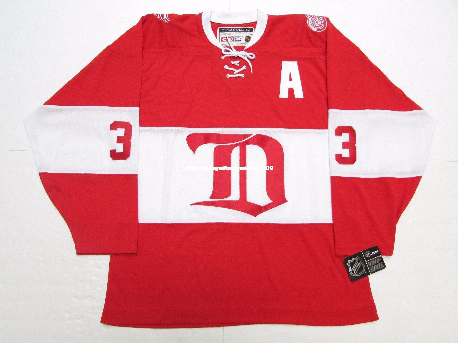 2019 Cheap Custom KRIS DRAPER DETROIT RED WINGS VINTAGE CCM HOCKEY JERSEY  Mens Personalized Stitching Jerseys From Etsyaliexpress e5bd79c4db8