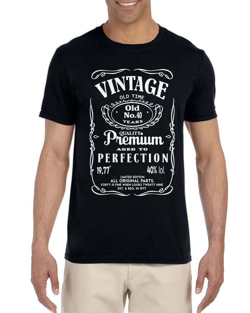 40th Birthday Gift For Men Vintage Classic Tshirt 1976 2018 Funny Tee Cute T Shirts Man