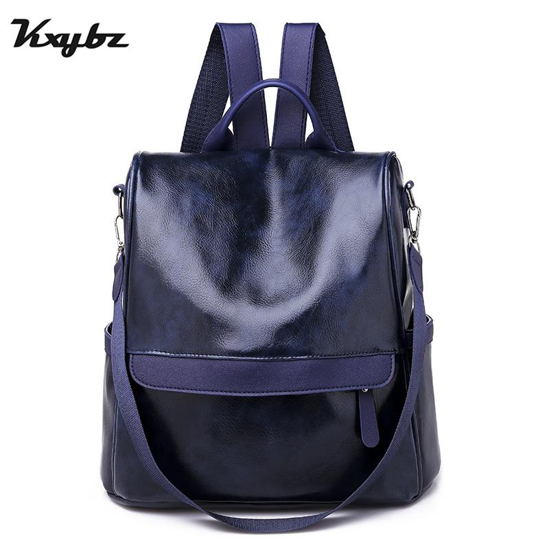 f5c136da577e 2019 Fashion Women Backpack High Quality Youth Leather Backpacks For Teenage  Girls Female School Shoulder Bag Bagpack Mochila Batman Backpack Running ...