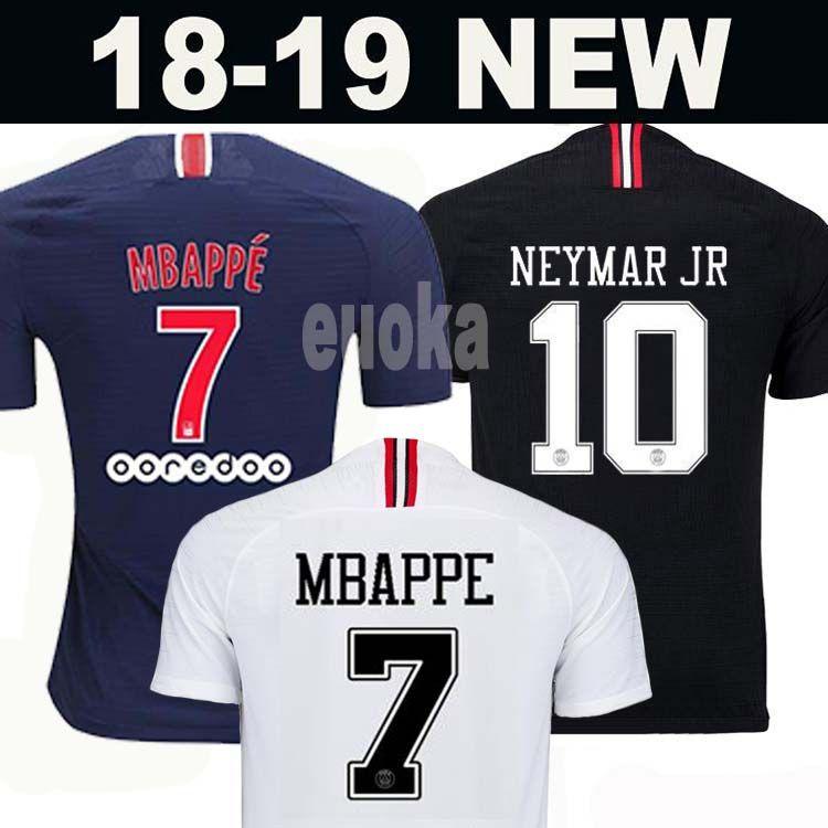 798cb91b97520 Top Tailândia Qualidade AIR PSG JORDAN 3RD Third Camiseta De Fútbol 2019  Camisa Paris Saint Germain NEYMAR JR MBAPPE Soccer Jerseys Camisa Cavani ...