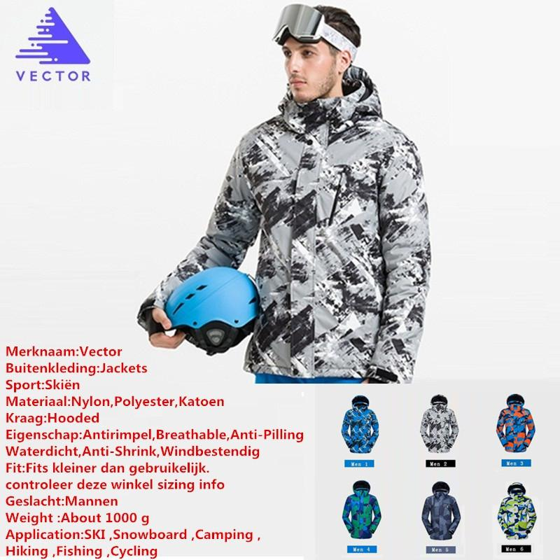2019 VECTOR High Quality Winter Men Ski Jackets Outdoor Thermal Waterproof  Snowboard Jackets Climbing Snow Skiing Clothes From Duriang 4afa129f1