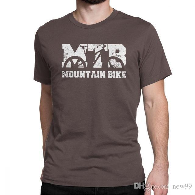 Compre 2019 Hombres S Diseñador De Ropa Camiseta Mountain Bike Vintage MTB  Diseño Apenado Camiseta Hombre Manga Corta Camisetas Graciosas De Cuello  Redondo ... 685a1f9286468