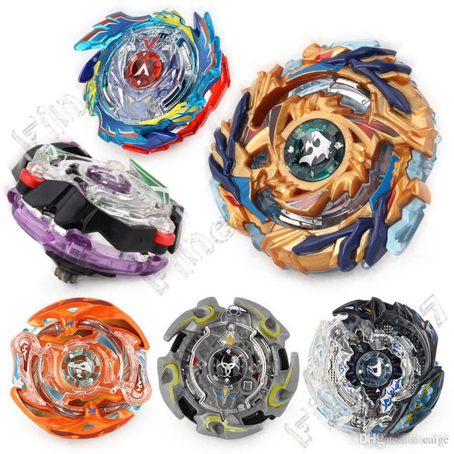 Burst generation fighting gyro toy assembly alloy rotating gyro Supply Toys Children Gift Metal Fusion Beyblade Toy