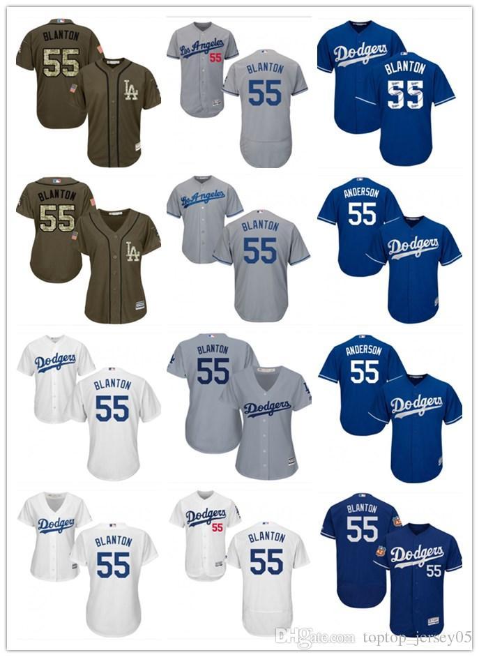 huge discount 06252 e6d31 2018 top Los Angeles Dodgers Jerseys #55 Joe Blanton Jerseys  men#WOMEN#YOUTH#Men s Baseball Jersey Majestic Stitched Professional  sportswear