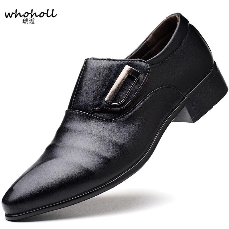Plus Size 38 48 Luxury Brand Classic Man Pointed Toe Dress Shoes Mens  Patent Leather Black Wedding Shoes Oxford Formal Mens Shoes Online Mens  Dress Boots ... 3b8ec0f9a842