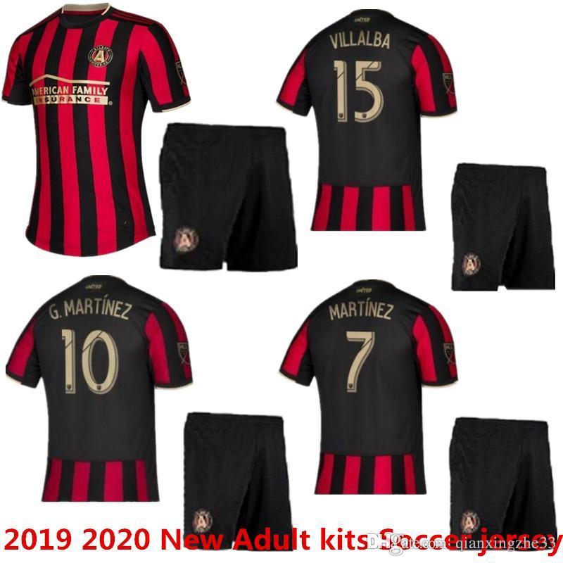 newest 6ef1e c05df 2019 2020 New Adult MLS Atlanta United kits FC soccer jerseys 19 20 GARZA  JONES ALMIRON MARTINEZ Major league football shirts uniform