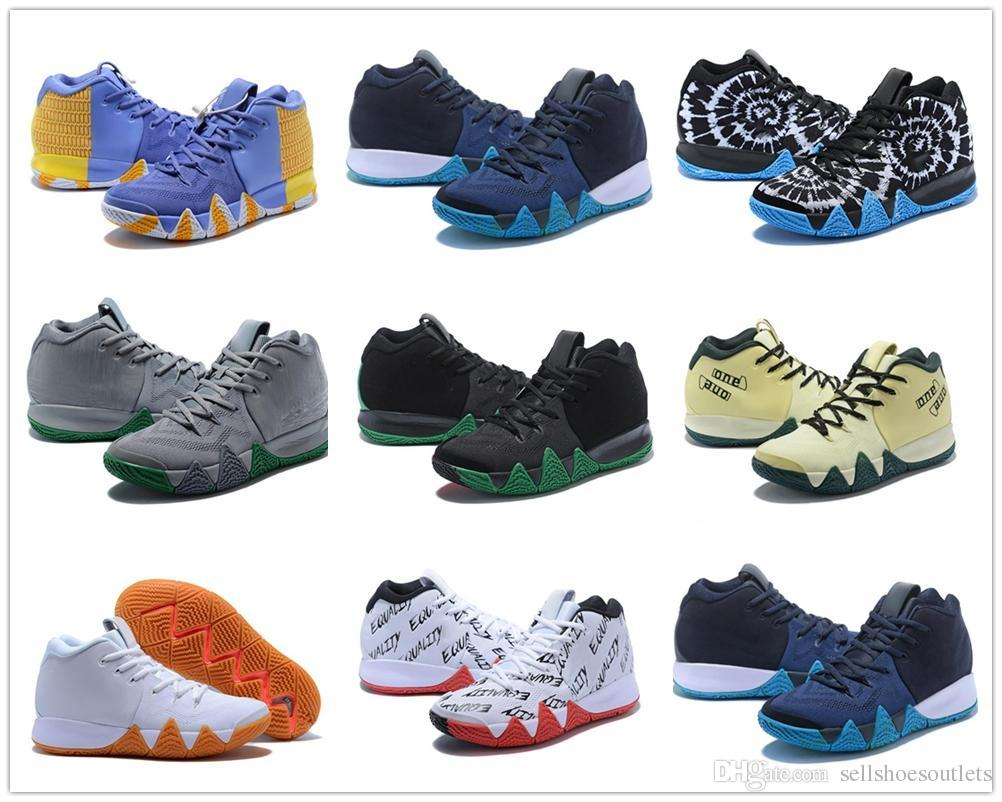 a3725850bf0 Discunt High Quality Mens classic new 4th generation art irving gold orange  mens basketball shoes quality 4s sneaker SHOES s158 s