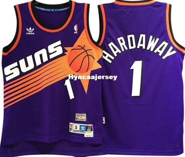 info for 2714d f7247 PENNY HARDAWAY #1 Sewn high quality HARDWOOD CLASSICS Vintage Top JERSEY  Mens Vest Size XS-6XL Stitched basketball Jerseys Ncaa