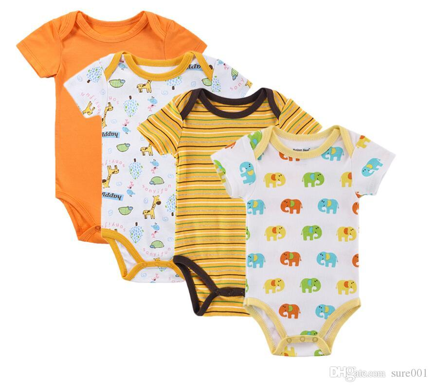 036152d01 Fashion Baby Clothing 100% Cotton Newborn Bodysuits Kids Unisex ...
