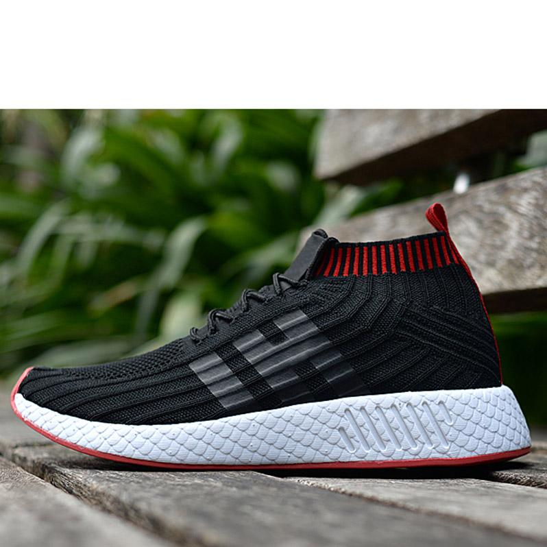 low priced 92622 c2ec9 2018 NMD Runner R2 World Cup Mesh Triple White Black Men Women Running  Shoes Sneakers Nmds Runners Primeknit Mens Trainers 5-11