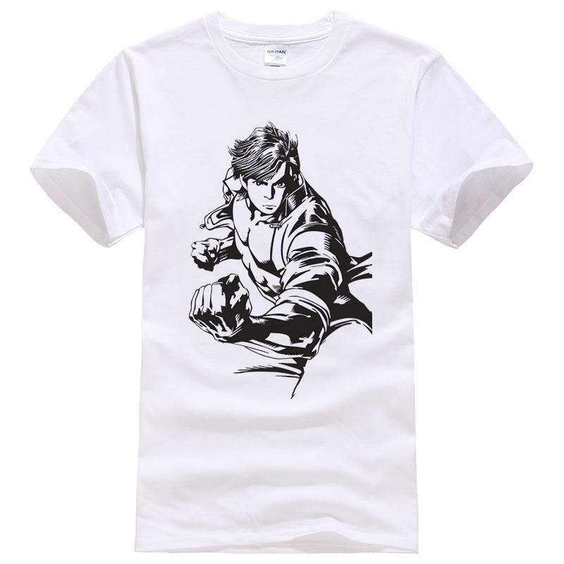 46306b98 2019 Summer Cotton King Of Fighters Grapple Figure Short Sleeve T Shirt Men  Cool Tees Fashion Tops #122 Design And Order T Shirts Gag T Shirts From  Jc03, ...