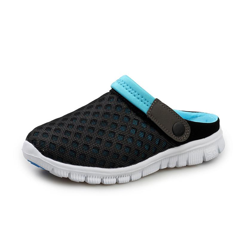 Athletic Shoes Kidss Sneakers 2018 Fall New Style Breathable Cowhide Mesh Boy Shoes Indoor Outdoor Anti Skid Lightweight Fitness Girl Shoes Attractive Appearance Boys
