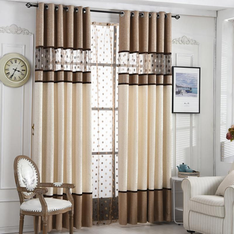 Acheter Byetee Rideau De Luxe Pour Rideaux De Cuisine Pour Salon Moderne  Cortinas Tissu Fenêtre Rideaux D19011506 De $19.16 Du Mingjing01 |  DHgate.Com