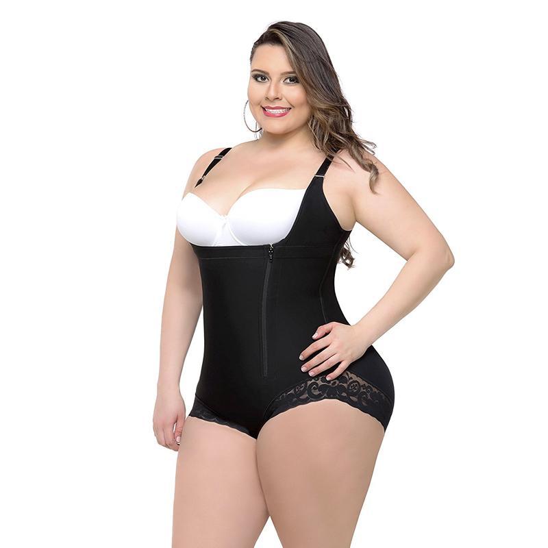 ef4c0492299 Shapewear Corset Plus Size Women Sexy Corset Bustier Body Shaper Waist  Corsets Slimming Bodysuit Underwear Tummy Control Panties C19040901 UK 2019  From ...