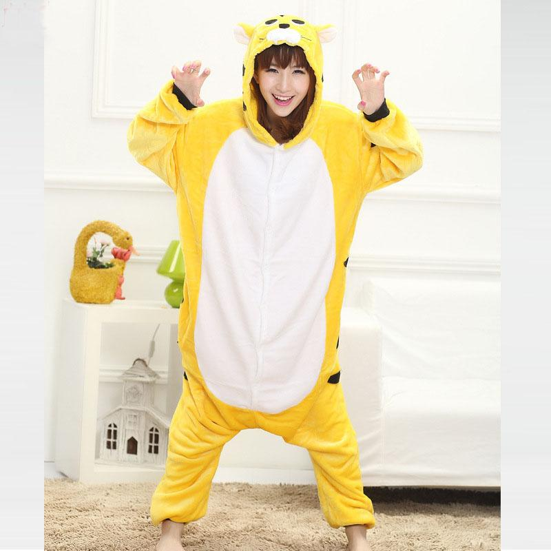 2019 XL Suit For 120kg Animal Tiger Kigurumi Jumpsuit Adult Pajamas Women  Sleepwear Men Pyjamas Cosplay Halloween Carnival From Home5 11a9cb560
