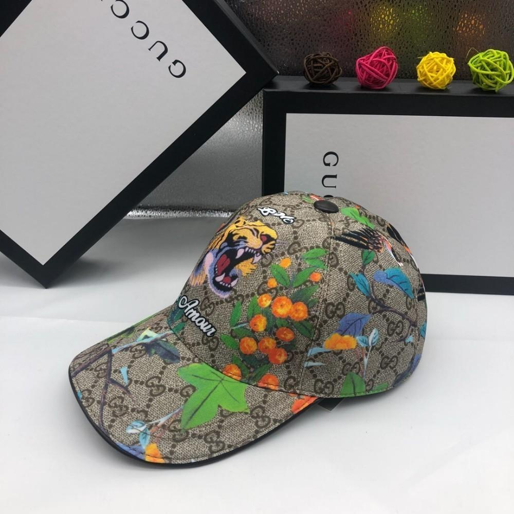 dda9647c5 New trend men and women hat fashion casual sports wild handmade tiger  embroidery baseball cap