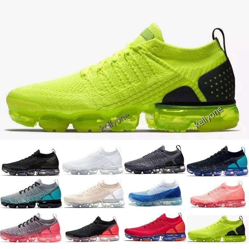 7be4f18c93adc Compre Nike Air Max Vapormax 2019 Nuevo 2.0 Mujeres Zapatos Para Hombre  Triple Negro Blanco Rojo Azul Zapatillas Deportivas Diseñador Zapatos  Zapatillas ...