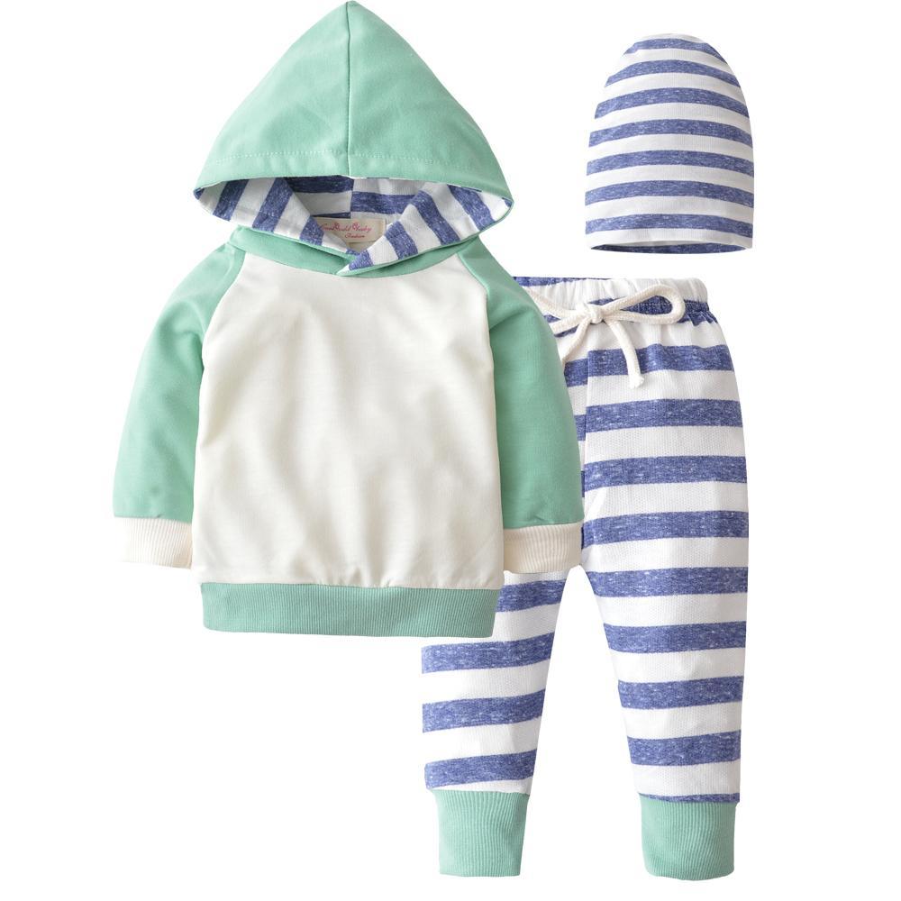 a062430751fd 2019 2018 New Autumn Newborn Baby Boy Girls Clothes Cute Hooded ...
