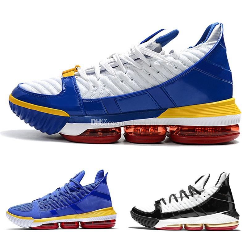 Scarpe da basket New Style XVI 16 Blu SuperBron China Throne Scarpe da ginnastica lebron in oro nero ASG