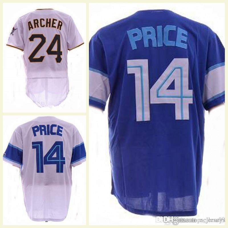 485efa8a5 2018 Mens New Toronto David Price Jerseys White Blue Cool Base Baseball  Jerseys Top Quality ! David Price Cool Base Baseball Jerseys Online with ...