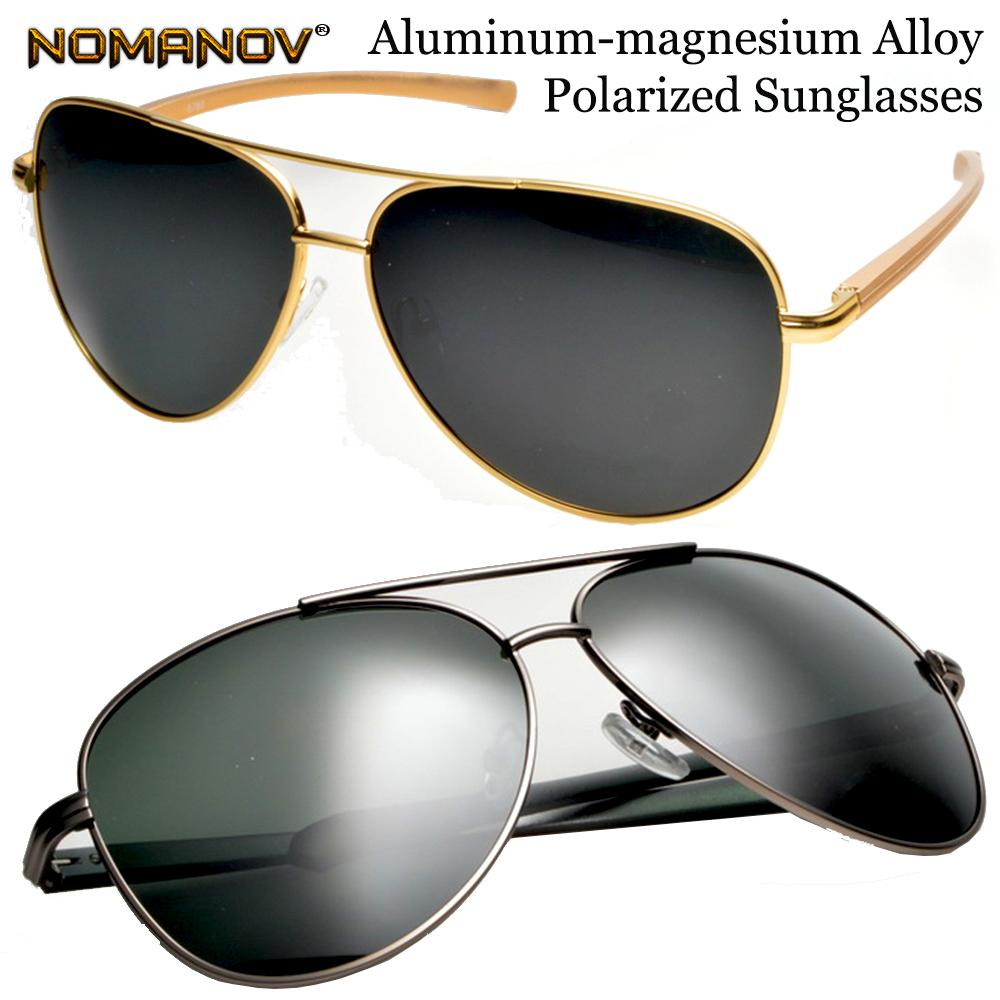 058185ae60 Oversized Al Mg Men Women Polarized Sunglasses Sun Glasses Lightweight High  Strength Anti Corrosion Spring Hinge Pilot Frame Running Sunglasses  Sunglasses ...