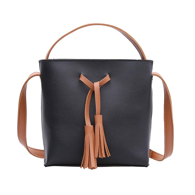 76b4e370ed Female Bag Winter New Korean Fashion Bucket Pack Shoulder Oblique Handbag  Trend Packet Women Girl Brief Hot Messenger Bag C010 Handbag Sale Side Bags  From ...
