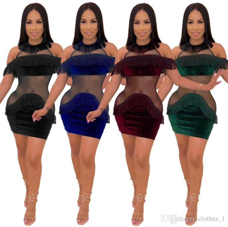 a9e63b9bf174 Women Designer Mini Skirt One Piece Dress High Quality Skinny Dress Sexy  Elegant Luxury Fashion Skirt Midi Dress 0552 Dresses At Red And Black  Casual ...