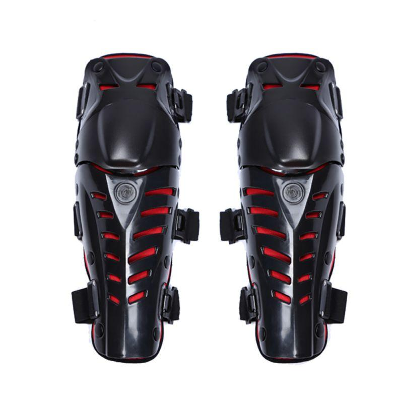 Motorcycle Riding Protector ATV Knee Elbows Pads Guards Set Protective Gear Motorbike Racing Motocross Off-Road Bike