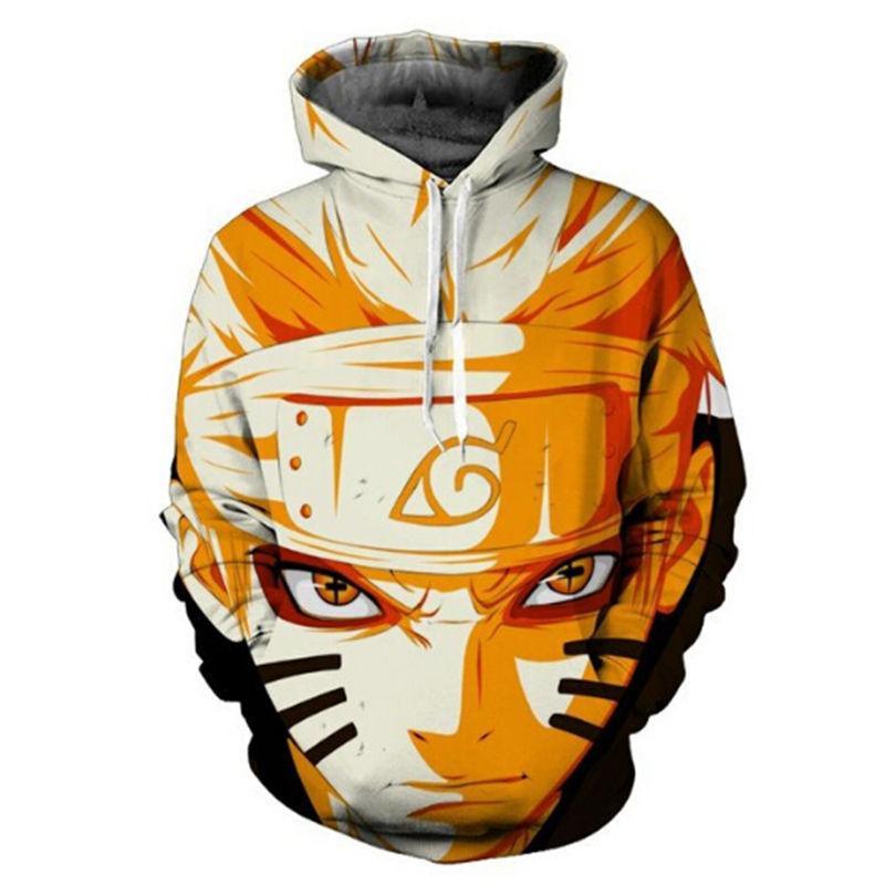 2017 Naruto Sasuke 3d Anime Sweatshirt Male Long Sleeve Outerwear Pullovers Anime Jacket Men