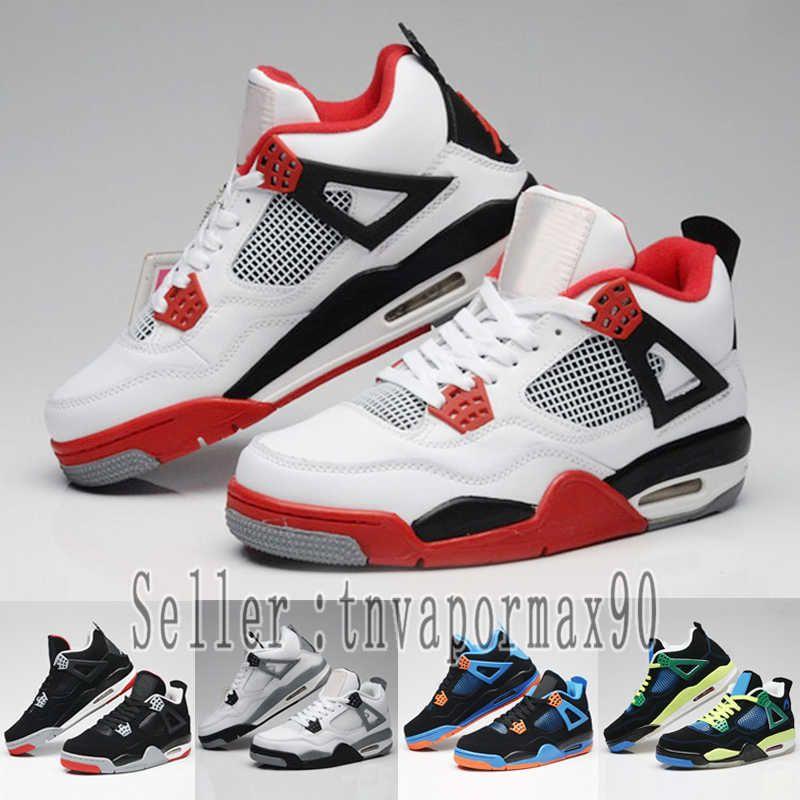 Pale De Baloncesto Negro Tatuajes 4s Cemento Zapatillas Gris Raptors Hombres 4 Mujeres Citron Día Zapatos Blanco Solteros Diseñador Rojo K3T1FJlcu