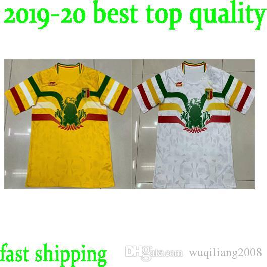 2019 2020 National Team Mali Soccer Jerseys Custom Any Name Any Number Home Yellow Concept 19 20 Football Jersey Shirt Uniform