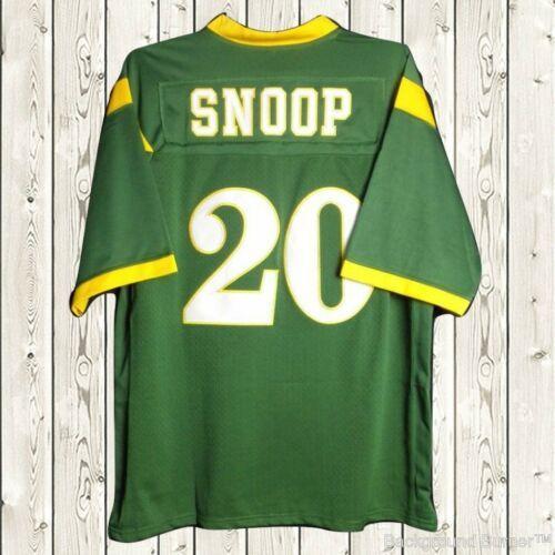 2020 Snoop Dogg Football Jersey #20 Nathan Hale High School ...