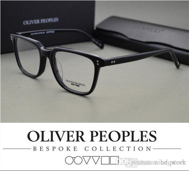 ec6d29ceb5a 2019 Brand Glasses Eyeglasses Frames 5031 Oliver Peoples NDG 1 P Square  Vintage Myopia Glasses Frame Men Women Retro Eyeglasses Frames 50 19 150  From ...