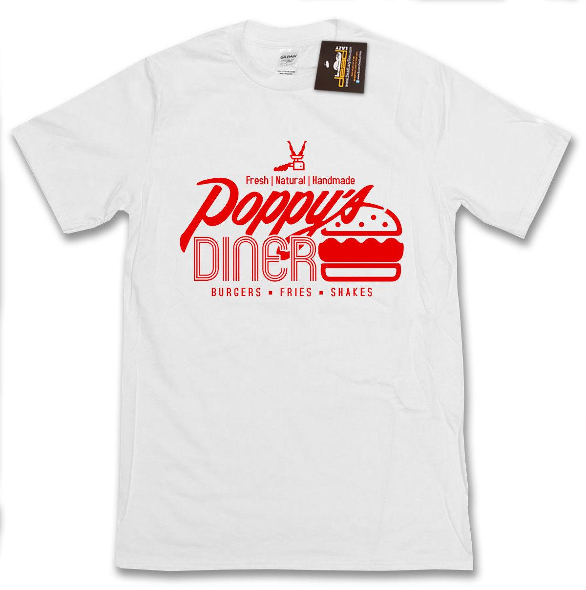 39c440215 Kingsman: The Golden Circle Inspired Poppy'S Diner T Shirt British Action  FilmFunny Unisex Tshirt The T Shirt T Shirts Designer From Tshirtbakers, ...