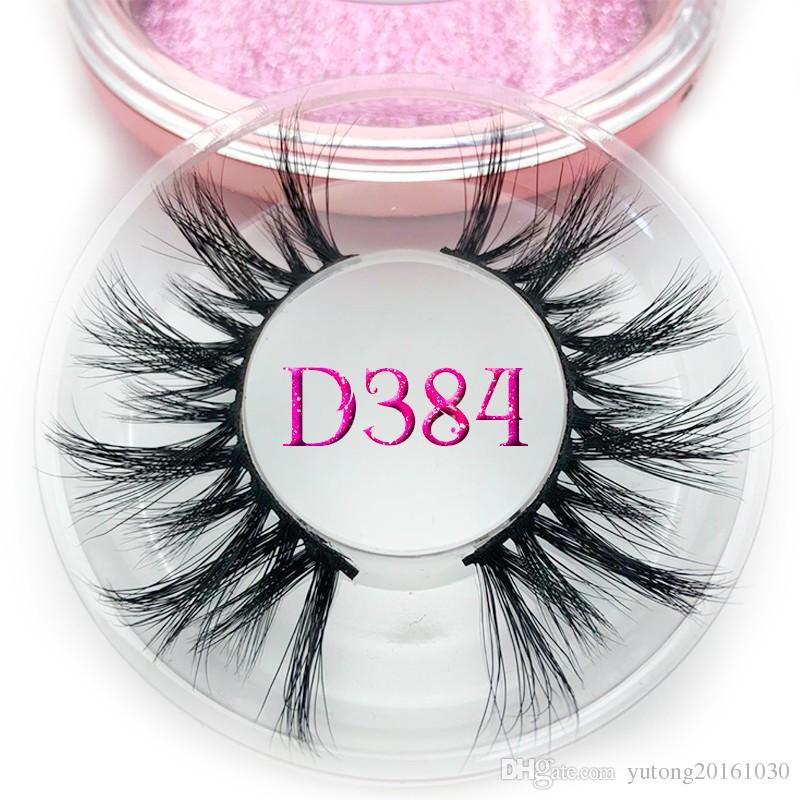 05fff65ae57 Mikiwi 20mm Long D384 3D Mink Lashes Long Lasting Mink Eyelashes Big ...